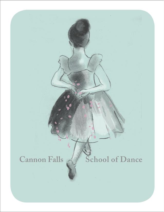 cf school of dance postcard