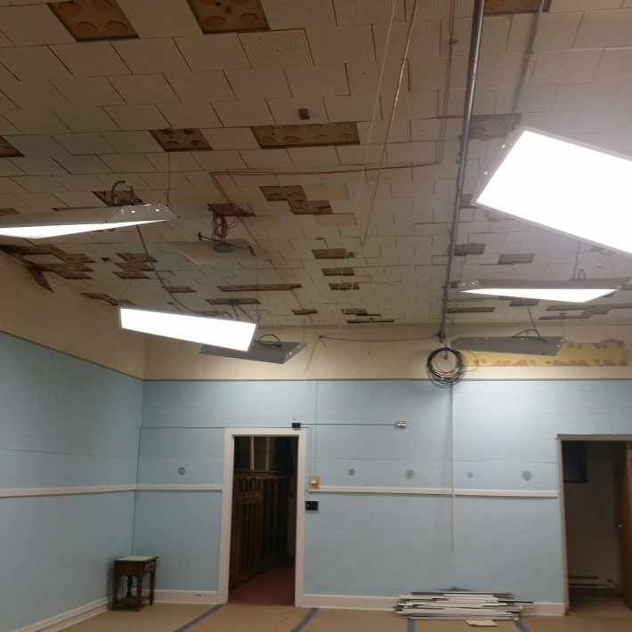 remodeling at CCC