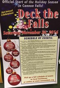 Deck The Falls Flyer